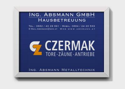 Acryl Schild Absmann GmbH