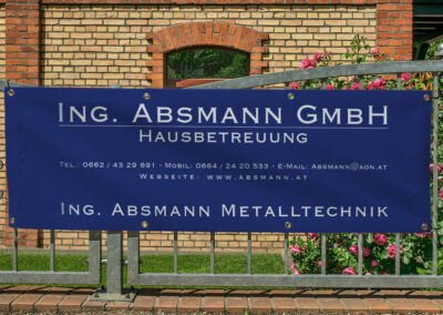 Werbebanner Absmann GmbH