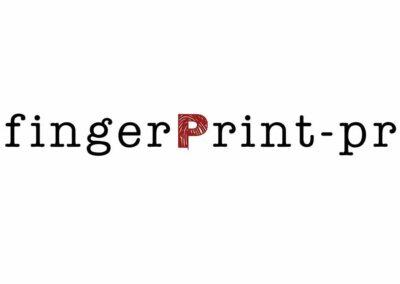Logo Design Firma Fingerprint PR