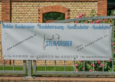 Werbebanner Steingruber