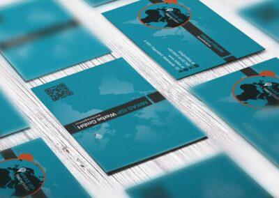 Visitenkarten Firma MIKAS ISP Werbe GmbH