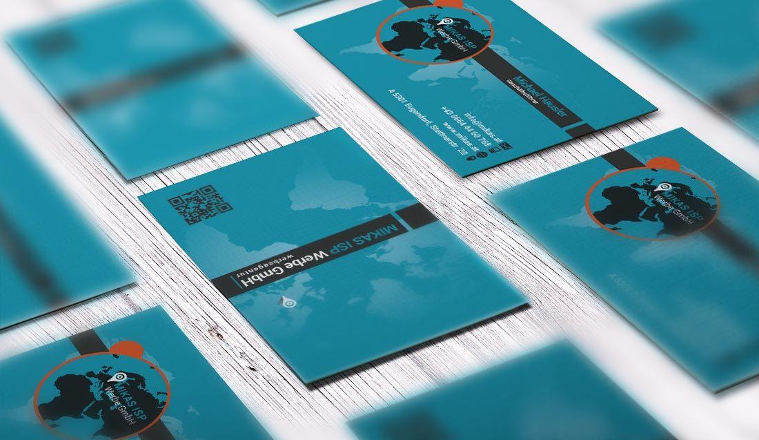 Homepage Erstellung für Firma MIKAS ISP Werbe GmbH