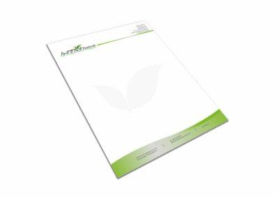 Briefpapier Firma MTM Technik