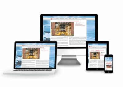 Web Design Erstellung für Firma Autolift GmbH
