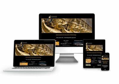 Webdesign Erstellung für Firma Gold Agent