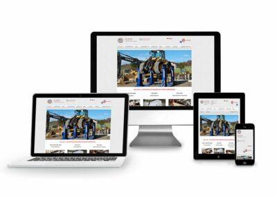 Web Design Erstellung für Firma IME Light GmbH