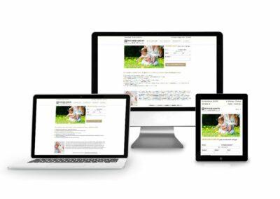 Homepage Erstellung für Versicherung Wie-Vorsorgen