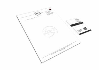 Briefpapier Design Erstellung für Baumeister Ing. Stefan Hipfel