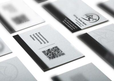 Visitenkarten Design Erstellung für Baumeister Ing. Stefan Hipfel