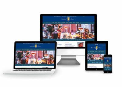 Homepage Erstellung für Agentur Mietkoch Olivier
