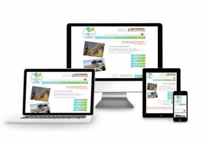 Webdesign Erstellung für Verein Gesundheitsviertel Wien