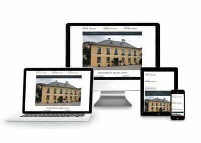 Homepage Erstellung für Dr. Tischler