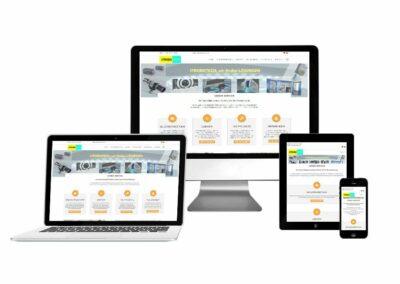 Homepage Erstellung für Firma Strobotech
