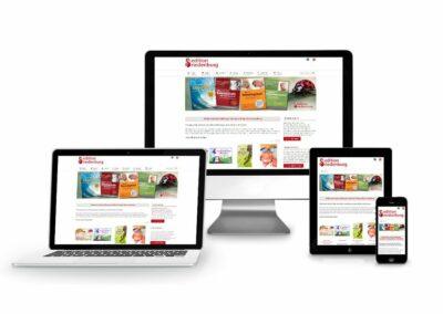 Homepage Erstellung für Verlag editionriedenburg