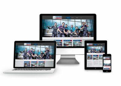 Home Page Design Erstellung Firma KFZ Technik Neureiter