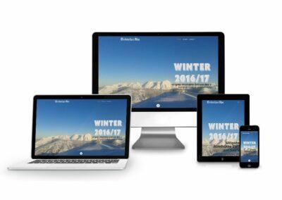 Webdesign Erstellung für Hochzeller Alm
