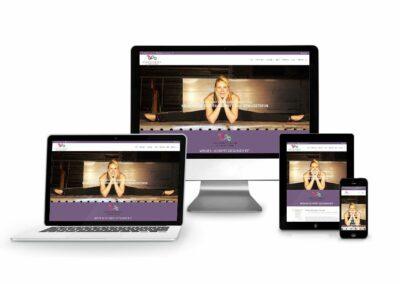 Webdesign Erstellung für Firma Sensitive Sience