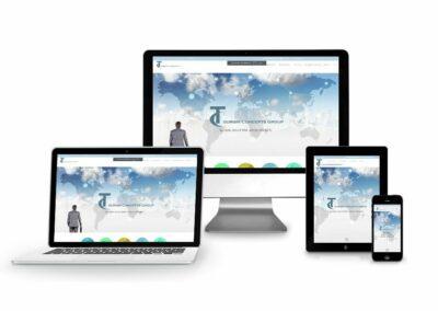 Webdesign Erstellung für Tourism Concepts