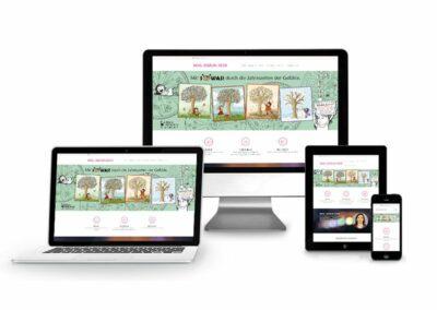 Webdesign Erstellung für Frau Sigrun Eder