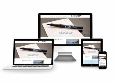 Webseiten Erstellung für Notar Stein