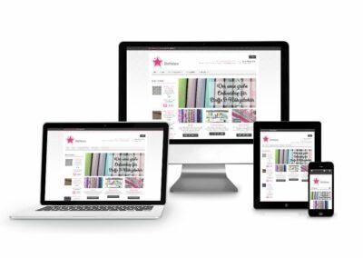 Webshop Erstellung für Firma Stoffstern