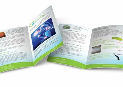 Flyer Erstellung für Fir Physio