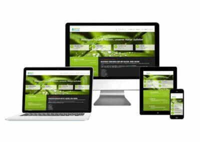 Homepage Erstellung für Green Clean Concept GmbH