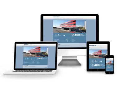 Homepage Erstellung für Assmont Worldwide