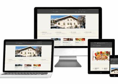 Homepage Erstellung für Almerwirt