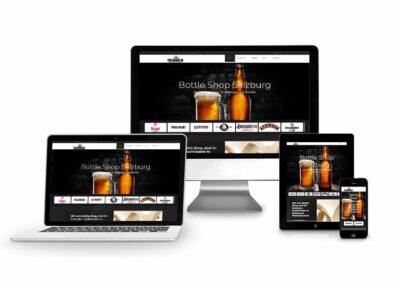 Webshop Erstellung für Bottle Shop Salzburg