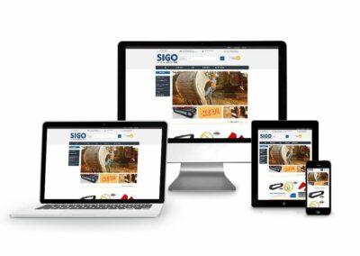 Webshop Erstellung für SIGO GmbH