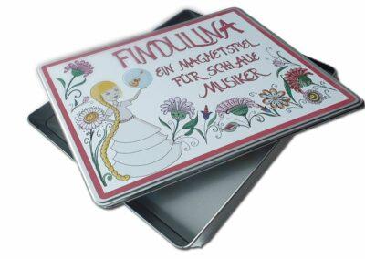 Zeichnung vektorisieren für Findulina