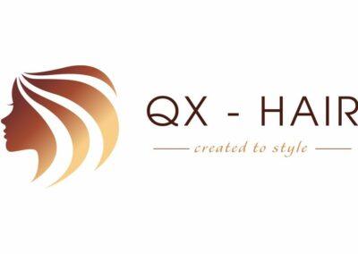 Logo Design Erstellung für QX Hair