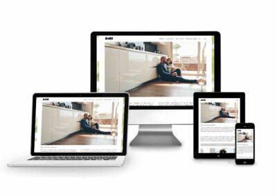Webseiten Erstellung für ELLER REAL ESTATES