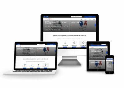 Webseiten Erstellung für Consulting Olivier