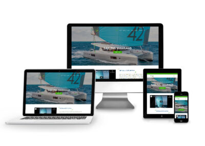 Homepage Erstellung für Smaragd Sailing