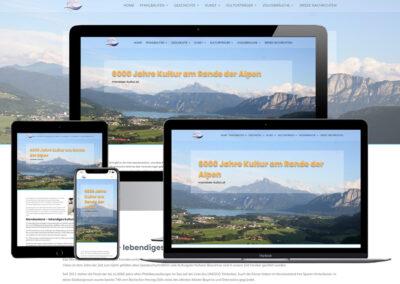 Homepage Erstellung für Mondsee Kultur