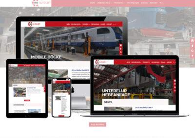 Homepage Erstellung Autolift GmbH