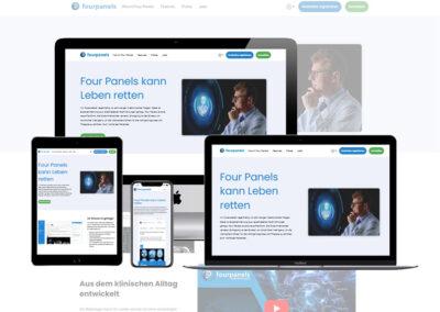 Webseiten Erstellung Four Panels GmbH