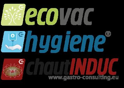 12 Logo Design Sets für Gastro Consulting