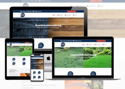 Webseite LTS Service GmbH